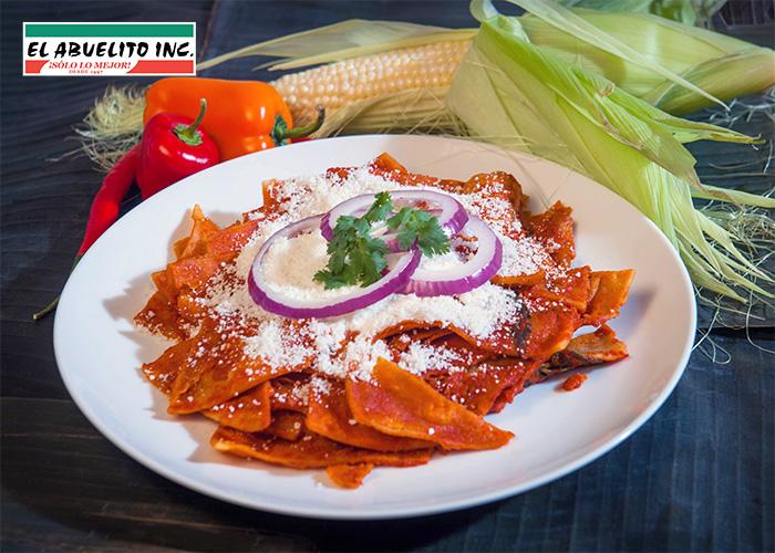 Chilaquiles Rojos Recipe recipes